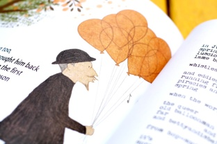The balloon man, illustrated by Kris Di Giacomo